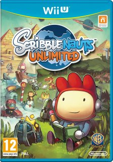 Диск Scribblenauts Unlimited (Б/У) [Wii U]