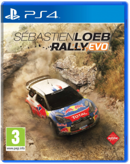 Диск Sebastien Loeb Rally EVO [PS4]