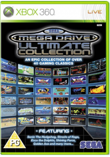 Диск Sega Mega Drive Ultimate Collection [X360]
