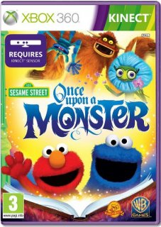Диск Sesame Street: Once Upon A Monster [X360, kinect]