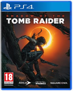 Диск Shadow of the Tomb Raider [PS4]