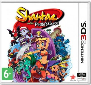 Диск Shantae And The Pirates Curse [3DS]