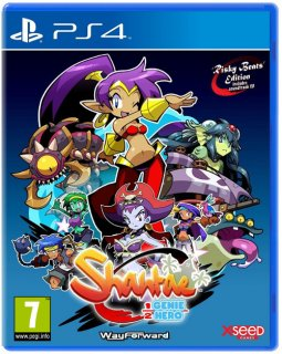Диск Shantae: Half-Genie Hero - Risky Beats Edition [PS4]