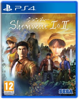 Диск Shenmue 1 & 2 HD Remaster [PS4]