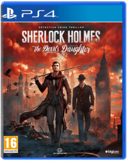 Диск Sherlock Holmes: The Devil's Daughter [PS4]