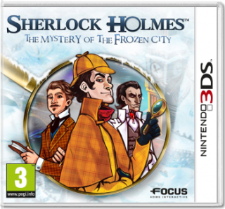 Диск Sherlock Holmes: The Mystery of the Frozen City [3DS]