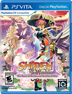 Диск Shiren The Wanderer: The Tower of Fortune and the Dice of Fate [PS Vita]