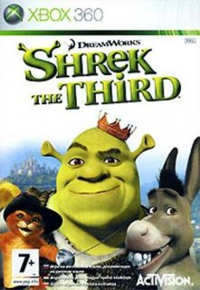 Диск Shrek the Third (Б/У) [X360]