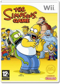 Диск The Simpsons Game [Wii]