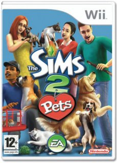 Диск Sims 2: Pets [Wii]