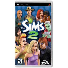 Диск The Sims 2 [PSP]