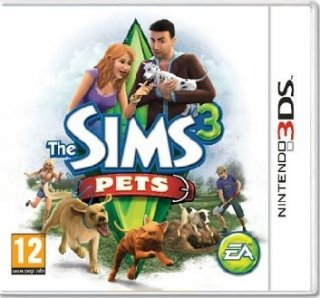 Диск The Sims 3 Питомцы [3DS]