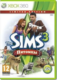 Диск Sims 3 Питомцы. Limited Edition [X360]