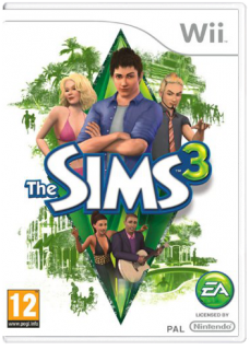 Диск Sims 3 [Wii]