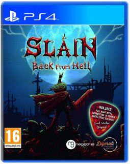 Диск Slain: Back from Hell [PS4]