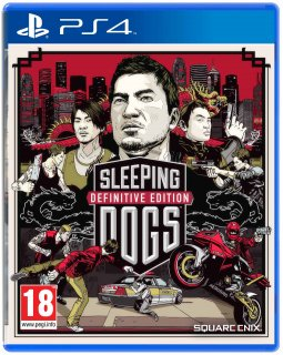 Диск Sleeping Dogs Definitive Edition [PS4]