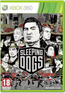 Диск Sleeping Dogs (англ. версия) [X360]