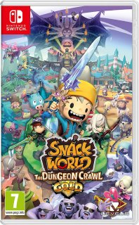 Диск Snack World: The Dungeon Crawl - Gold [NSwitch]