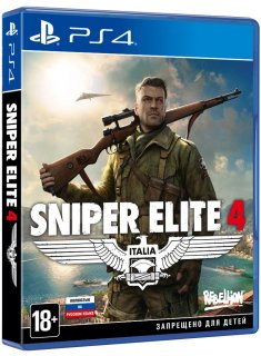Диск Sniper Elite 4 - Limited Edition [PS4]