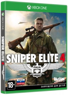 Диск Sniper Elite 4 - Limited Edition [Xbox One]