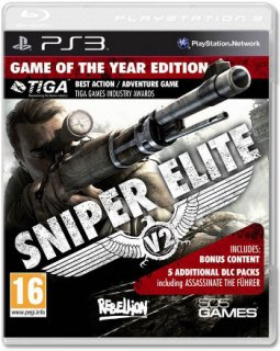 Диск Sniper Elite V2 Silver Star Edition [PS3]