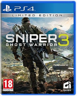 Диск Sniper: Ghost Warrior 3 - Limited Edition [PS4]