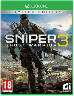 Диск Sniper: Ghost Warrior 3 - Limited Edition [Xbox One]