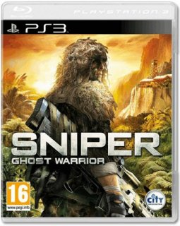 Диск Sniper Ghost Warrior (Снайпер Воин Призрак) (Б/У) [PS3]