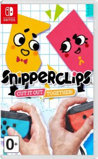 Диск Snipperclips – Cut it out, together! [NSwitch]