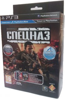 Диск SOCOM: Спецназ [PS3, PS Move] + Гарнитура Bluetooth Headset PS3