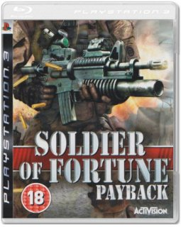 Диск Soldier of Fortune: Payback (Б/У) [PS3]