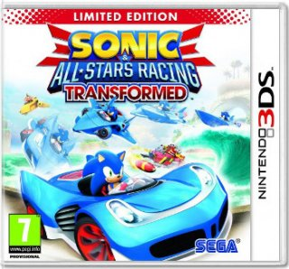 Диск Sonic & All Star Racing Transformed (Б/У) [3DS]