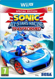 Диск Sonic & All-Star Racing Transformed Limited Edition [Wii U]