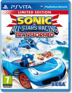 Диск Sonic & All-Star Racing Transformed (Б/У) [PS Vita]