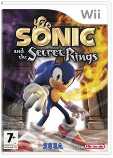 Диск Sonic and the Secret Rings (Б/У) [Wii]