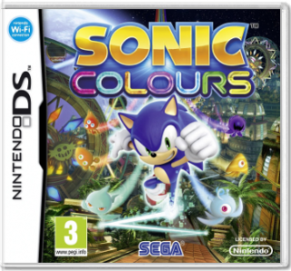 Диск Sonic Colours [DS]