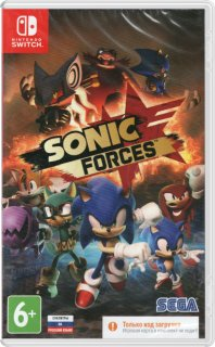 Диск Sonic Forces (код загрузки) [NSwitch]
