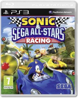 Диск Sonic & SEGA All-Stars Racing [PS3]