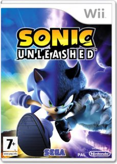 Диск Sonic Unleashed [Wii]