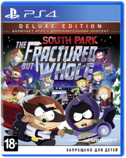 Диск South Park: The Fractured but Whole - Deluxe Edition [PS4]