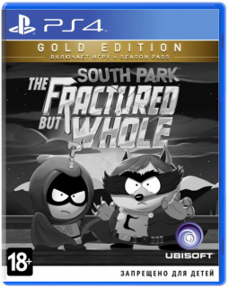Диск South Park: The Fractured but Whole - Gold Edition [PS4]