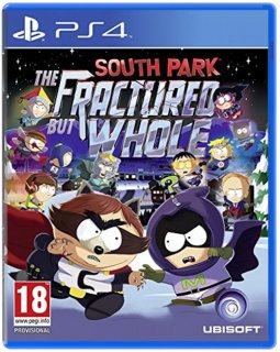 Диск South Park: The Fractured but Whole (US) (Б/У) (US) (без обложки) [PS4]
