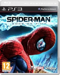 Диск Spider-Man: Edge of Time (Б/У) [PS3]