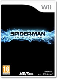 Диск Spider-Man: Edge of Time [Wii]