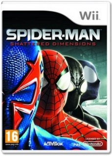 Диск Spider-Man: Shattered Dimensions [Wii]