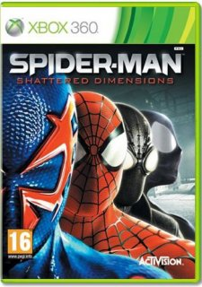 Диск Spider-Man: Shattered Dimensions [X360]