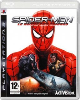 Диск Spider-Man: Web of Shadows [PS3]