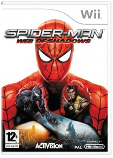 Диск Spider-Man: Web of Shadows [Wii]