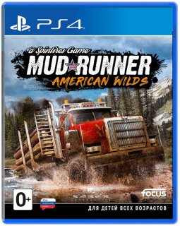 Диск Spintires: MudRunner American Wilds [PS4]