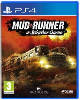 Диск Spintires: MudRunner [PS4]